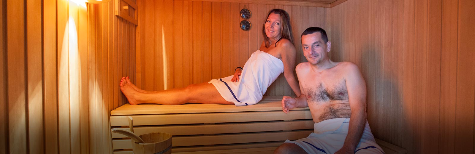 sauna-paar